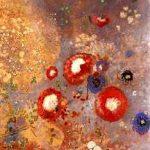 tapis de fleurs Odilon Redon Fontfroide