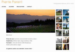 Pierre Parent Web master